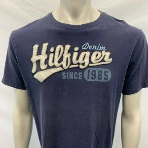 Tommy Hilfiger Spell Out T Shirt Men's Large